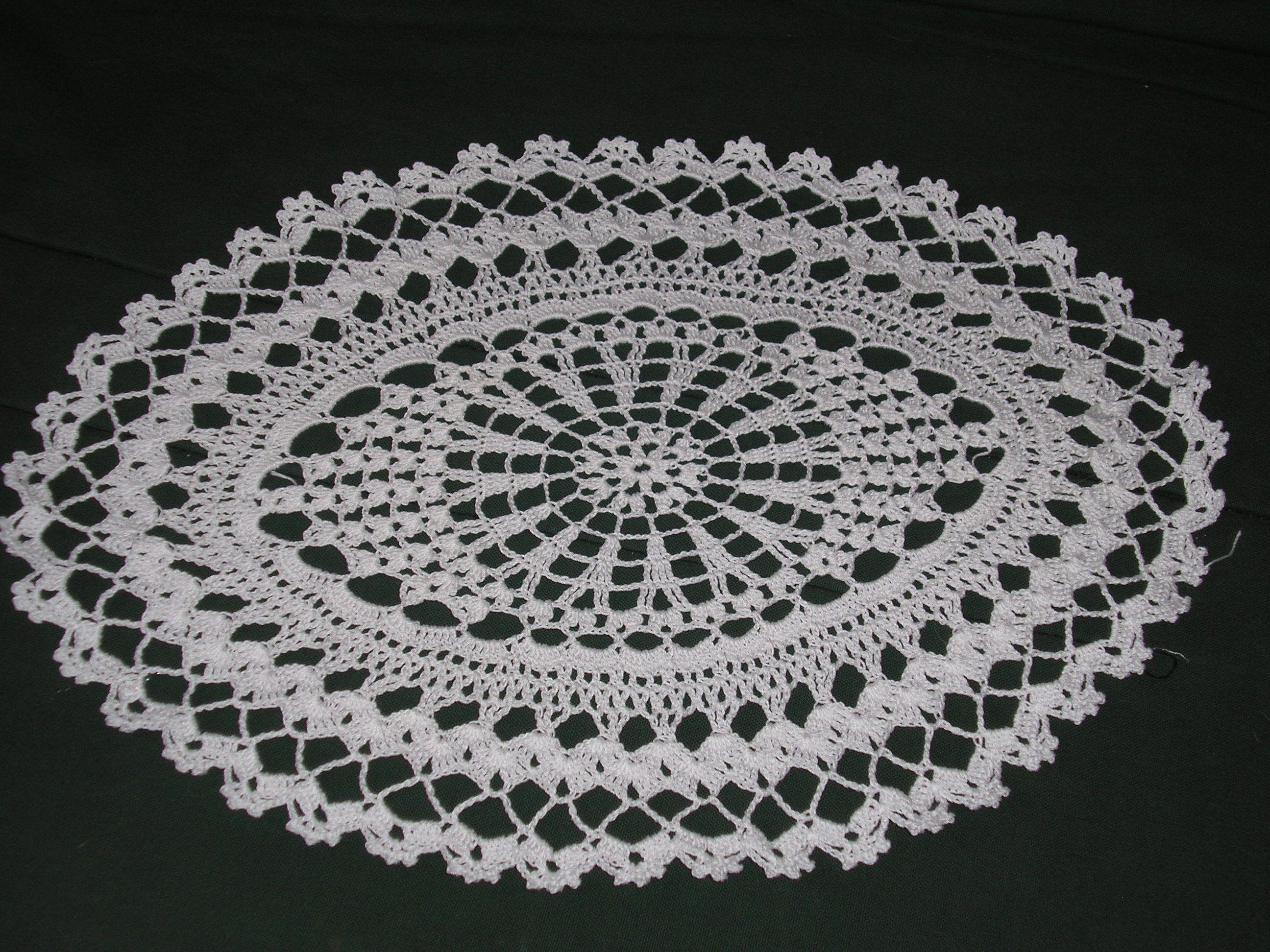 napperons au crochet page 3